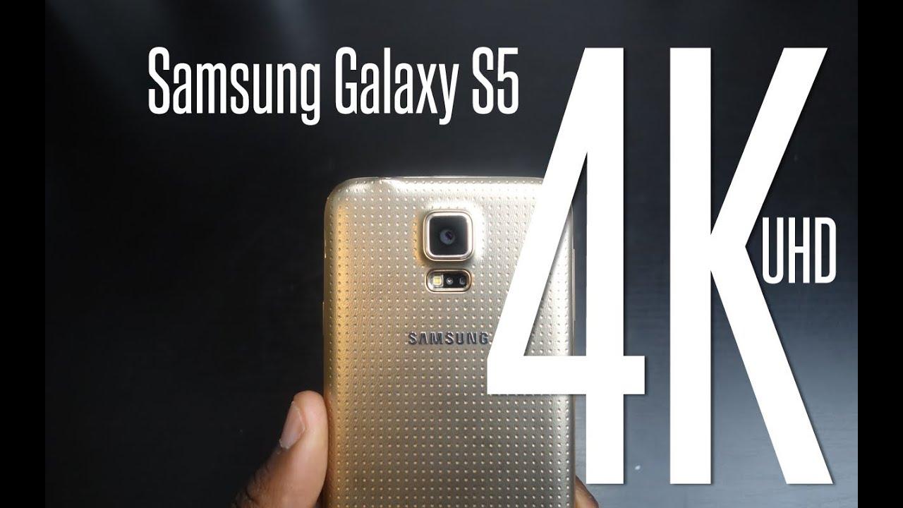 samsung galaxy s5 4k sample