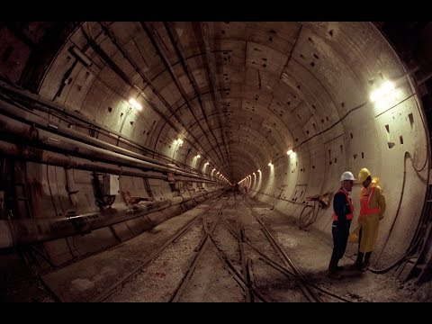 The Longest Underwater Tunnel, The Channel Tunnel- The Construction Details- English Documentary