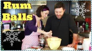 Holiday Treat: Rum Balls Recipe Cooking Tutorial