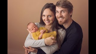 Newborn Session Video Making Of-Baby Carson