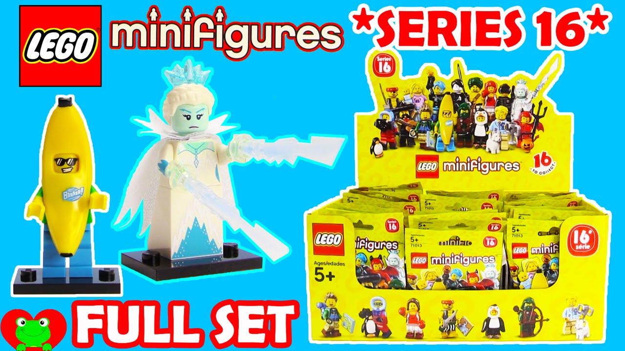 Lego Minifigures Series 16 71013 Full Set Youtube