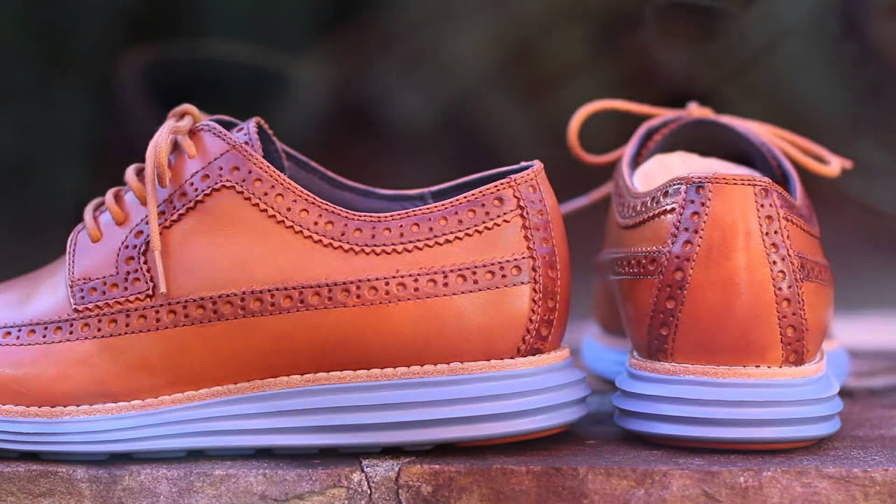 bacff85a2d25e Quick Look Cole Haan LunarGrand LongWing Camello - YouTube