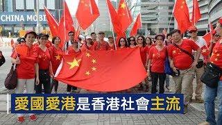 人民日报评论员文章:爱国爱港是香港社会主流   CCTV