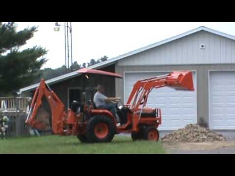2005 Kubota B7800 Compact Tractor Loader Backhoe 3 Point Hitch For Sale
