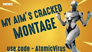 My Aim's Cracked - Controller On Console - Fortnite INDIA Montage - Atomic Virus