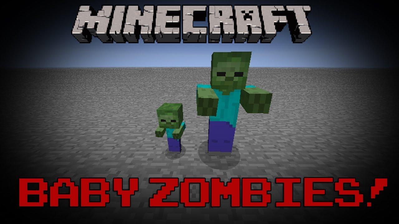 Minecraft Baby Zombies Youtube