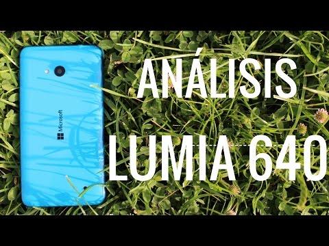 Lumia 640, análisis en español