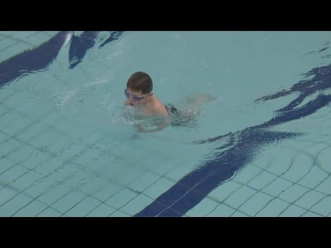 Inspirational Six Year Old Swims Length Of Channel
