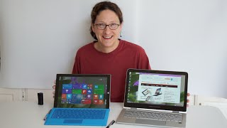 HP Spectre x360 vs.  Microsoft Surface Pro 3 Comparison Smackdown