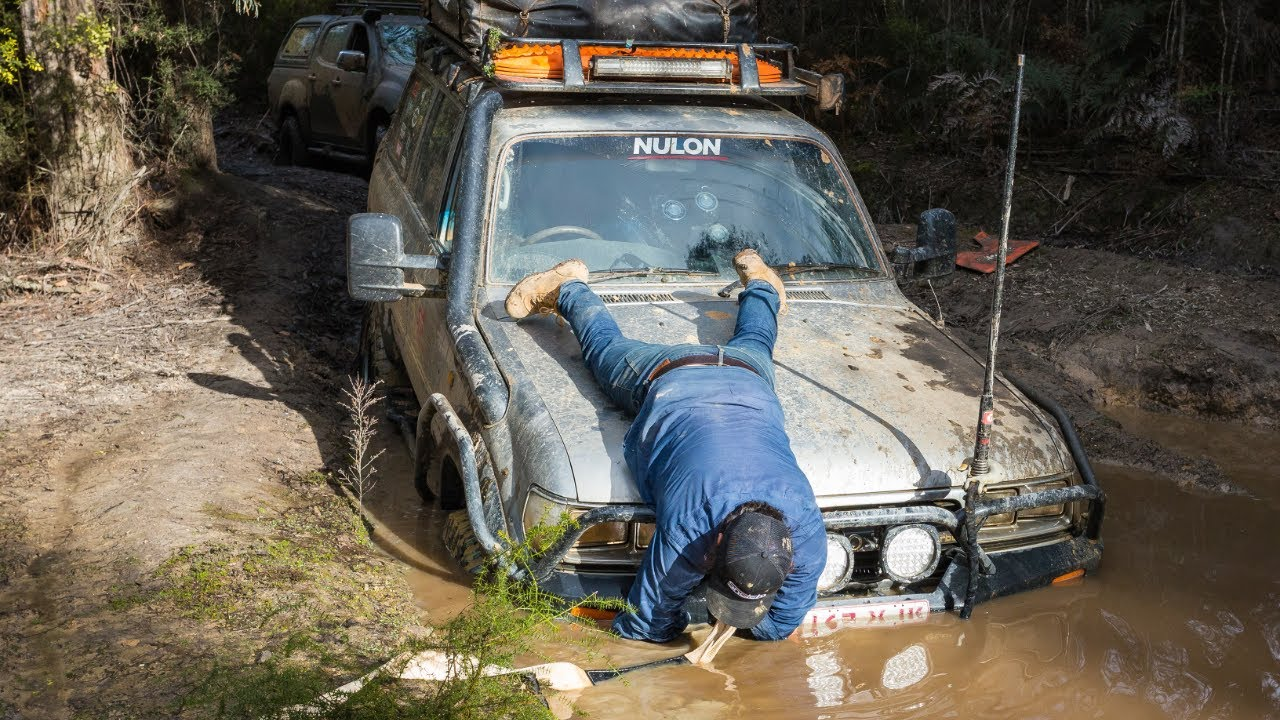 The 4wd Shortcut From Hell 4 Days In The Mud Bush Mechanic Fixes Winching Into The Night Youtube