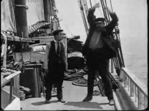 Buster Keaton in The Love Nest 1923