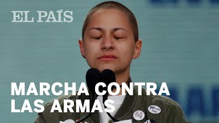 El discurso contra las armas de la activista Emma González | Internacional