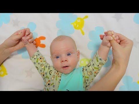 Детский МАССАЖ при гипертонусе | развитие ребенка