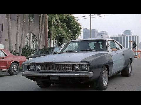 '68 Dodge Charger in Crash N' Burn