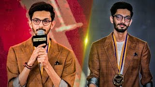 Anirudh's Reaction to his Meme | Walks the Ramp in-style!