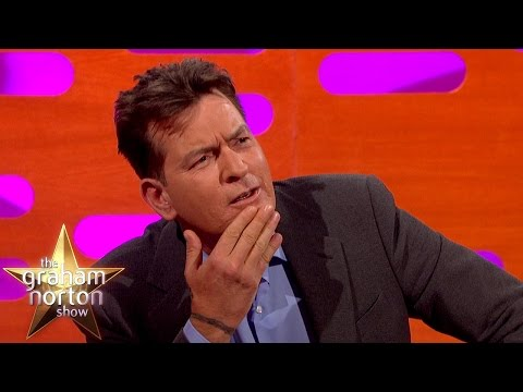 Donald Trump Gave Charlie Sheen Fake Platinum Cufflinks - The Graham Norton Show