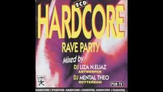 Hardcore Rave Party Mental Theo Mix