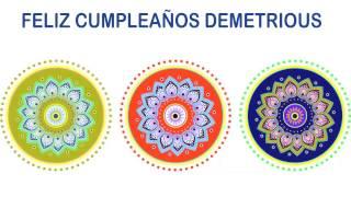 Demetrious   Indian Designs - Happy Birthday