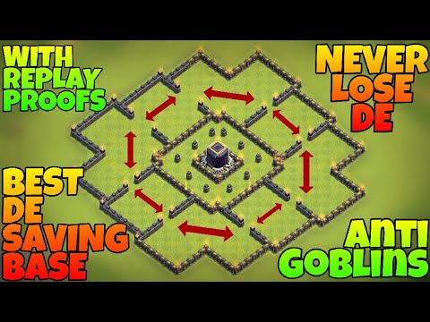 Th9 Dark Elixir Protection Base | Clash of Clans