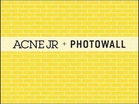 acne jr photowall