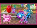 Baby Alive Doll & Animal Babies + Giant Egg Surprise Opening Toy Surprises & Frozen Elsa RideOn Toys