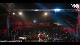 WATAKUBALI Mbosso live perfomance Nairobi/Kenya
