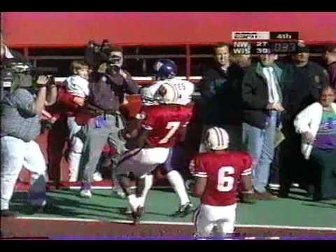 1996 Northwestern vs. Wisconsin