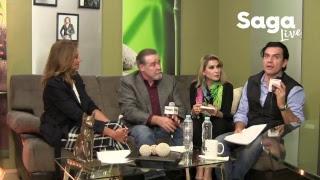 #SagaLive - Dulce, Jorge Salinas y César Évora