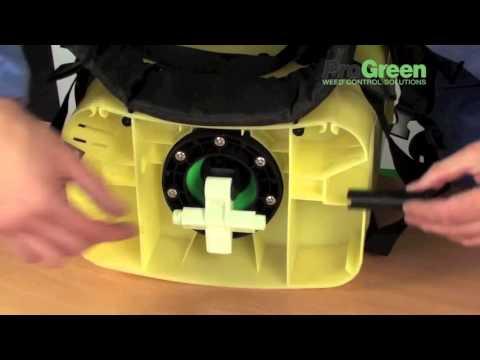 How to assemble a Cooper Pegler CP3 Evolution Knapsack Sprayer