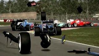Formula One F1 2012 Crashes Montage