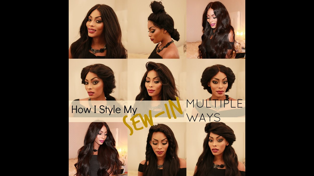 How I Style My Sew In Multiple Ways Youtube