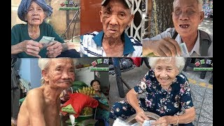 Tấm lòng vàng của anh chị Việt kiều đã được trao tận tay cho những cụ ông, cụ bà