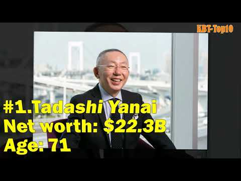 Japan's 50 Richest People in 2021(Forbes)