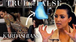 Is Kim Kardashian's Butt Really Fake? | So True / So False | KUWTK | E!