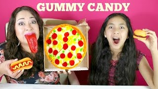 YUMMY GUMMY CANDY!! Pizza Hamburger Hot Dog|B2cutecupcakes