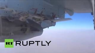 Syria: Russian Su-25 blasts fortified position of insurgents in Hama