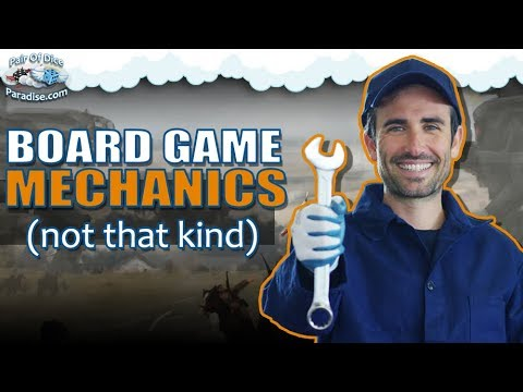 Finding a good Board Game Mechanic | TABLEscraps #43