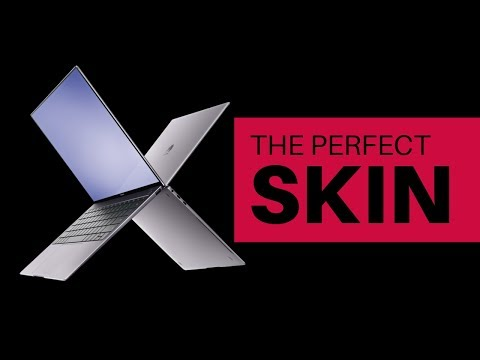 Matebook X Pro dBrand Skin Tutorial