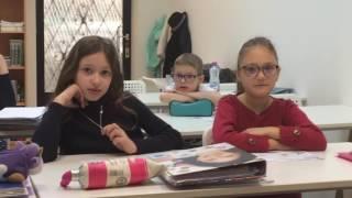 Урок русского языка в 1-ом классе школы