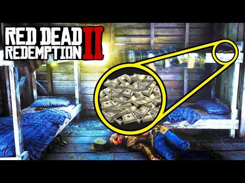 SECRET CABIN WITH MONEY STASH in Red Dead Redemption 2! Easy Money RDR2!
