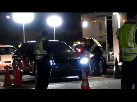 Orange County Sheriffs DUI Checkpoint In Lake Forest California