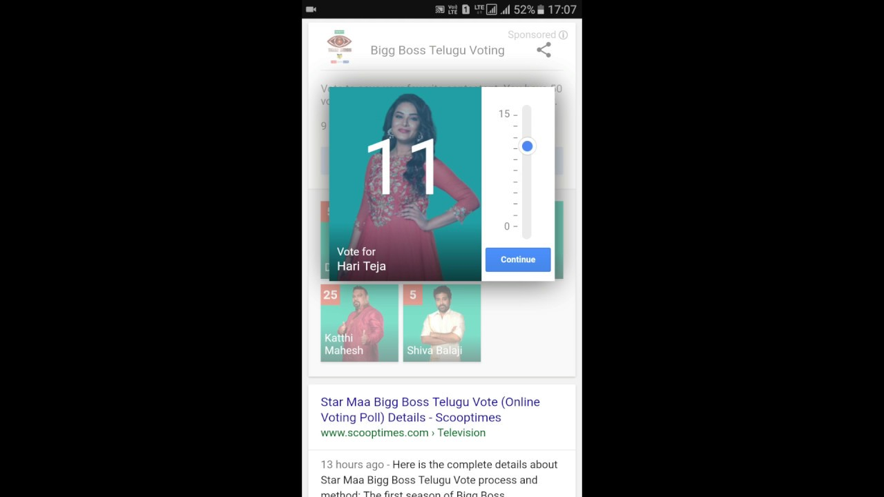 Colors website bigg boss 9 voting - How To Vote Bigg Boss Telugu Contestants In Online Bigg Boss Telugu