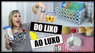 DIY: Do LIXO ao LUXO - 3 Ideias pra Você fazer em Casa #9