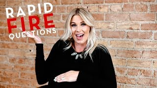 Rapid Fire Questions with Carlie!