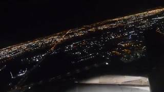 Air Canada Airbus A320 Late Night Departure out of Toronto Pearson Int'l