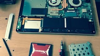 Upgrade Asus N550 Laptop with an SSD Drive