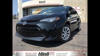 2018 Toyota Corolla LE - Attrell Toyota - Brampton ON