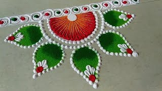 Diwali special rangoli 2018/ navratri special rangoli