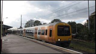 Class 323 West Midlands Trains at Lichfield City