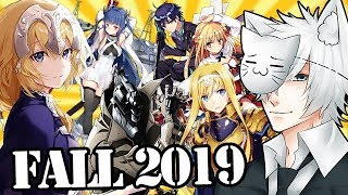 Fall 2019 Anime Season: What Will I Be Watching?